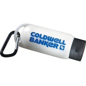 Customizable Holiday Carabiner Bottle (SPF30, 2 Oz.)