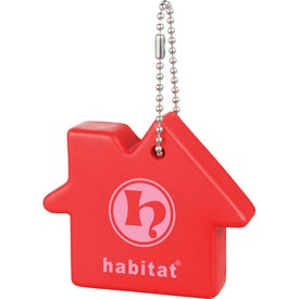 Home Sweet Home Keychain Printed with Your Logo