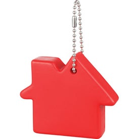 Home Sweet Home Keychain with Your Slogan