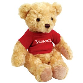 Plush Honey Bear Branded with Your Logo
