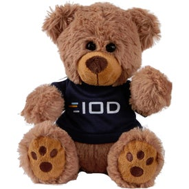 Honey Plush Bear with T-Shirt