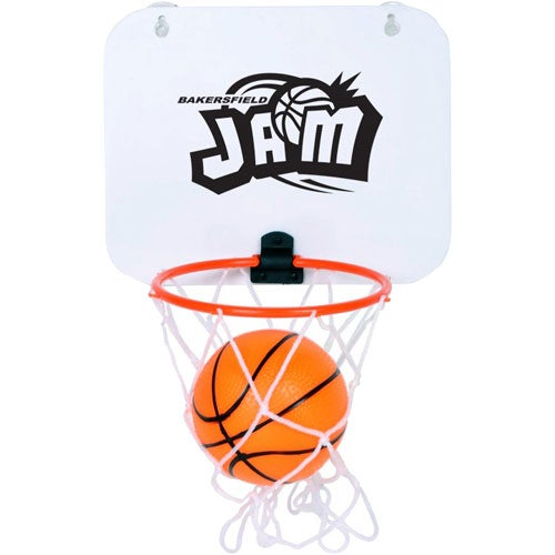 White / Orange Basketball Hoop Set