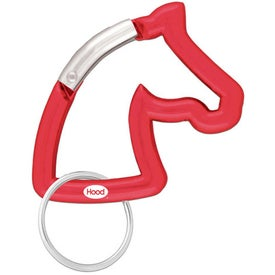 Horse Head Carabiner for Your Organization