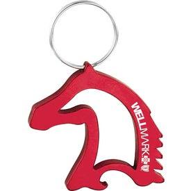 Monogrammed Horse Head Shaped Bottle/Can Opener