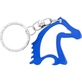 Imprinted Horse Head Bottle Opener