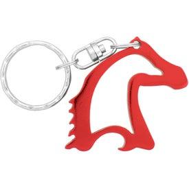 Printed Horse Head Bottle Opener