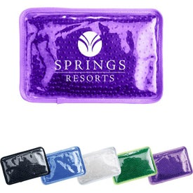 "Hot Cold Pack with Plush Backing (7.5"" x 4.75"" x 0.75"")"