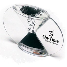 Branded Hour Glass Liquid Crystal Timer