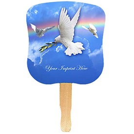 Hourglass Shape Hand Fan Giveaways