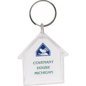 House Acrylic Key Tag