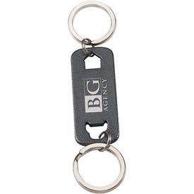 House and Car Keychain Printed with Your Logo