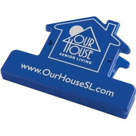 Personalized House Keep-it Clip