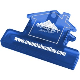 House Keep-it Clip Imprinted with Your Logo