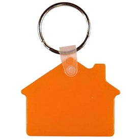 House Key Fob with Your Slogan
