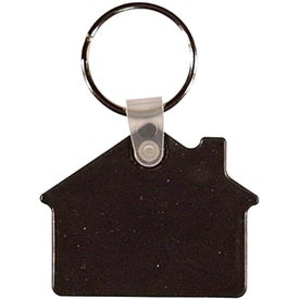 House Key Fob Printed with Your Logo