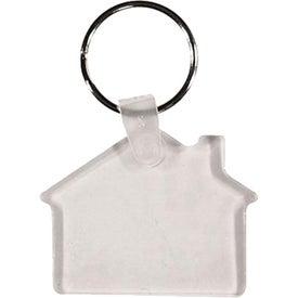 Branded House Key Fob