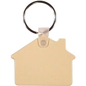 House Key Fob for Marketing