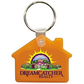 House Key Fob (Full Color Logo)