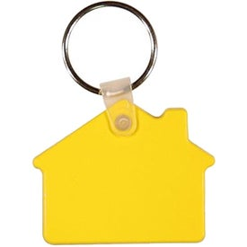 Promotional House Key Fob