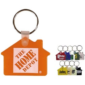 House Key Fobs (Pad Print)