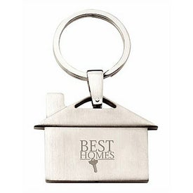 House Key Ring Imprinted with Your Logo