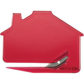 Monogrammed House Keystone Cutter with Magnetic Strip