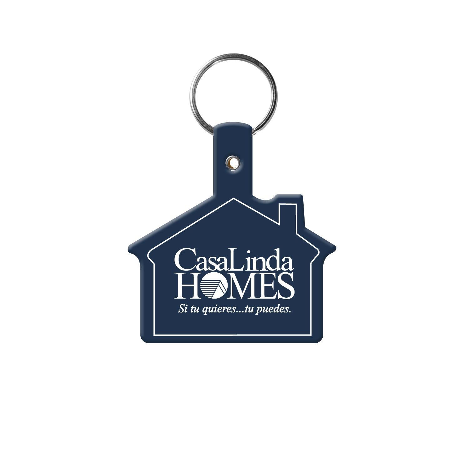Promotional House Key Tag