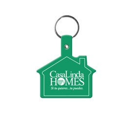 Branded Vinyl House Key Tag