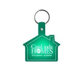 Personalized Vinyl House Key Tag