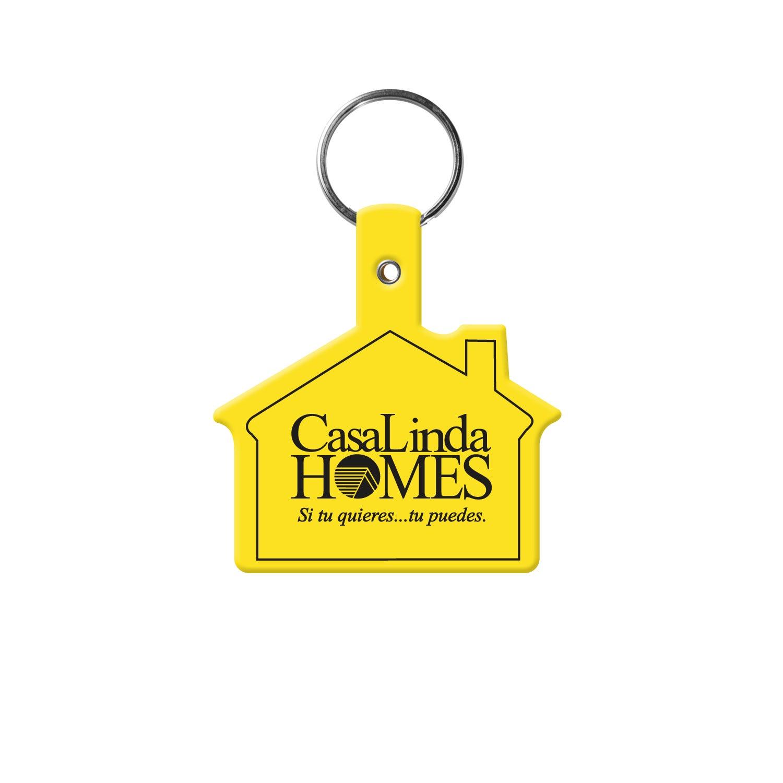Vinyl House Key Tag Trade Show Giveaways 0 41 Ea