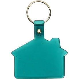 Vinyl House Key Tag