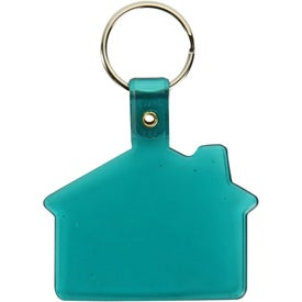 Vinyl House Key Tag