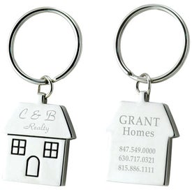 House Keytags with Your Logo