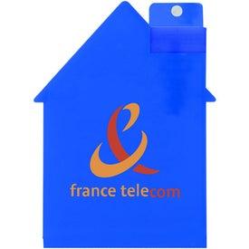 Logo House Shape Air Freshener