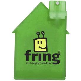 Monogrammed House Shape Air Freshener