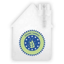House Shape Hair Spray for Your Company