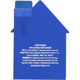 House Shape Hair Spray for Customization