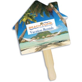House Shape Hand Fan