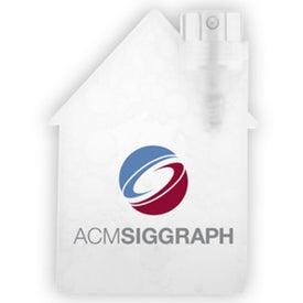 Advertising House Shape Lens Cleaner