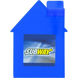 Printed House Shape Alcohol Free Sanitizer