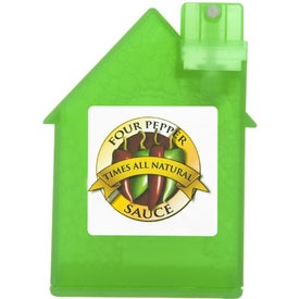 House Shape Alcohol Free Sanitizer for your School
