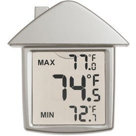 House Shape Thermometer for Promotion