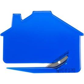 Personalized House Shaped Keystone Cutter