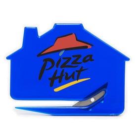 Monogrammed House Shaped Keystone Cutter