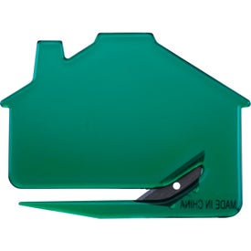 Branded House Shaped Keystone Cutter