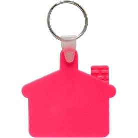 Personalized House Soft Key Tag