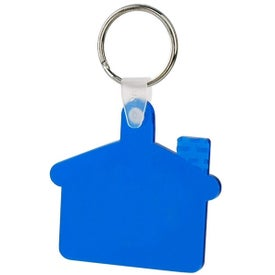 House Soft Key Tag for Advertising