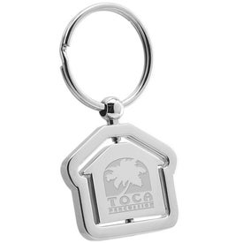 House Swivel Metal Keyholder