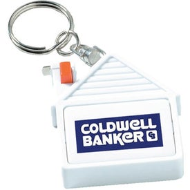 House Tape Measure Key Tag for Promotion