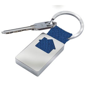 House Keychains Printed with Your Logo